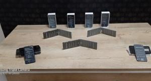Kahramanmaraş'ta kaçak telefon operasyonu