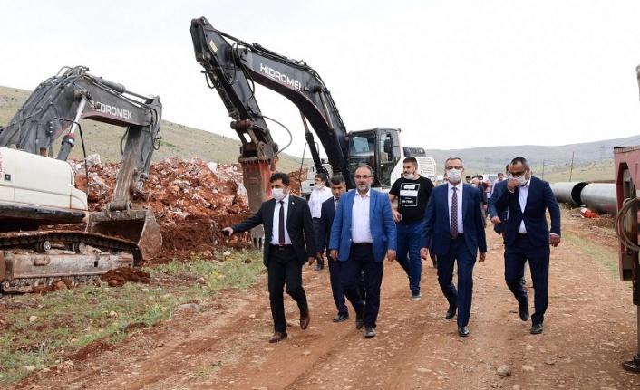 Elbistan ve Afşin'e 275 Milyonluk İçme Suyu Yatırımı