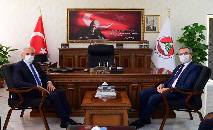Güngör, Andırın Belediyesi'ni Ziyaret Etti