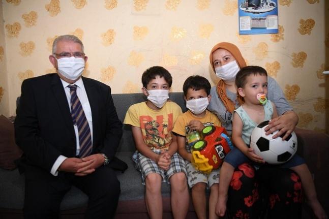 Küçük Mehmet'e Ses Olan Onikişubat Belediyesi