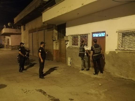 Kahramanmaraş polisinden aranan şahıslara kapsamlı operasyon