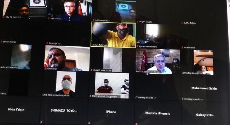 KSÜ'de eğitim seminerleri yeniden başladı