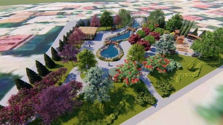 Büyükşehir park yapımına devam ediyor