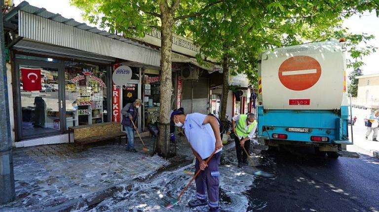 Büyükşehir'den Kurban Bayramı temizliği