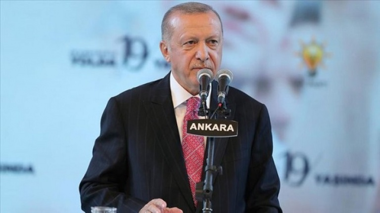 Cumhurbaşkanı Erdoğan'dan BAE'ye tepki