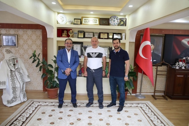 Eski milletvekili Bayramoğlu'ndan, Afşin'e ziyaret