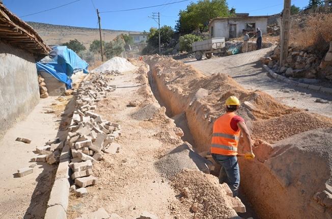 Evri mahallesinde içme suyu çalışmaları tamamlandı