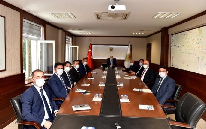 Kahramanmaraş'ta koordinasyon ve Değerlendirme Toplantısı