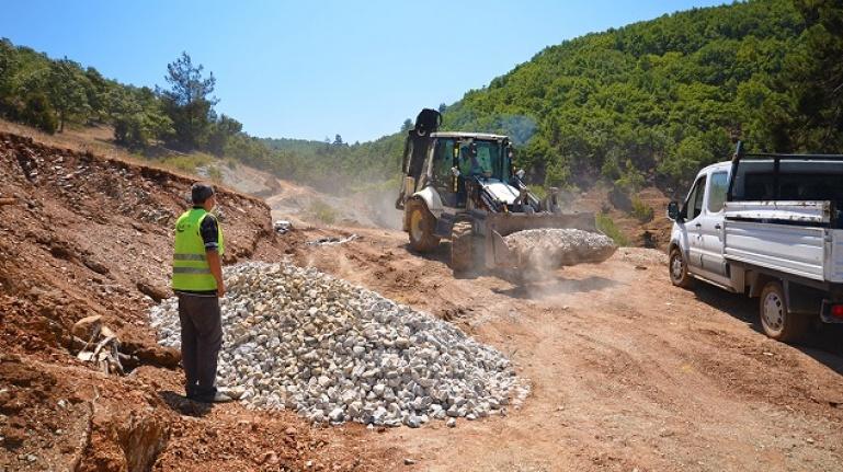 Kaledibi mahallesindeki kaynak iyileştirme çalışmaları tamamlandı