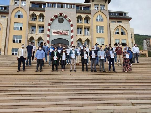 AK Parti Kahramanmaraş Gençlik Kolları'ndan basın açıklaması