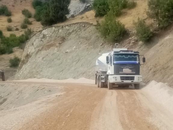 Büyükşehir'den, Şahinkayası yoluna asfalt