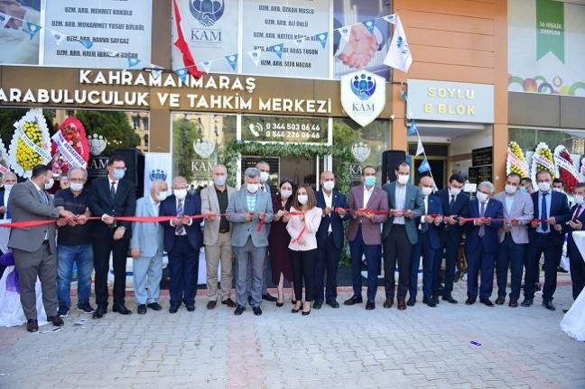 Kahramanmaraş'ın ilk arabuluculuk ve tahkim merkezi törenle hizmete açıldı