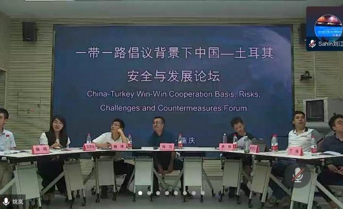 Kahramanmaraş'lı akdemiysen terör konferansında Çin'e ders verdi