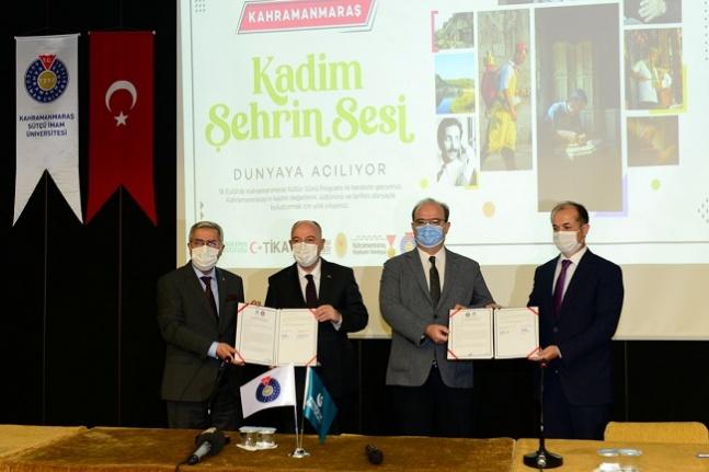 KSÜ ve Yunus Emre Enstitüsü Arasında Üniversite Tanıtım Protokolü İmzalandı