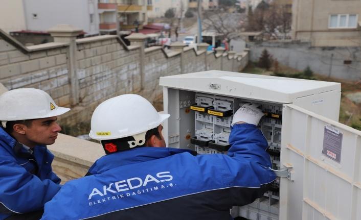 Akedaş Elektrik Dağıtım'dan 800 milyon TL'lik yatırım