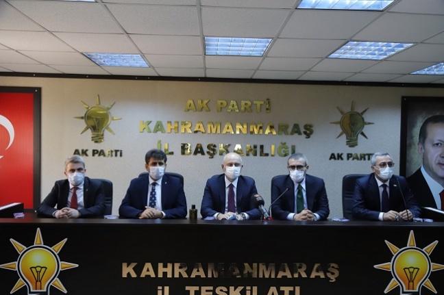 """Bakan Karaismailoğlu, """"Türkiye yalnız bırakmak için ekonomik ve siyasi açıdan tüm güçleriyle üzerimize geliyorlar"""""""