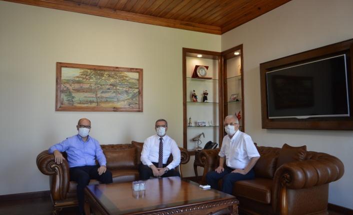 Başkan Güngör'den Mersin ve Adana Ziyareti