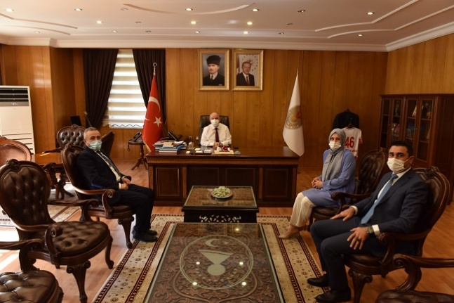 Deva Partisi'nden Kahramanmaraş Valisi Ömer Faruk Coşkun'a Ziyaret
