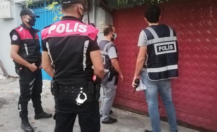 Kahramanmaraş'ta Polis, aranan 67 şüpheliyi yakaladı,42'si tutuklandı