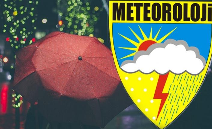 Meteoroloji'den 26 il için sarı 7 il için turuncu uyarı