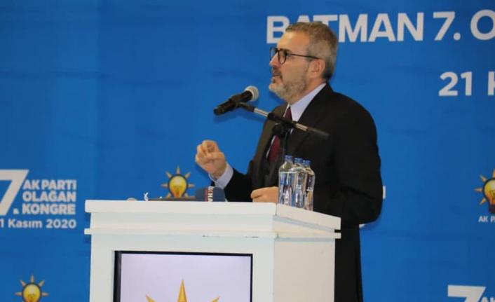 """AK Partili Ünal, """"Devlette ilgili kararları verecek olan milletin seçtikleridir"""""""