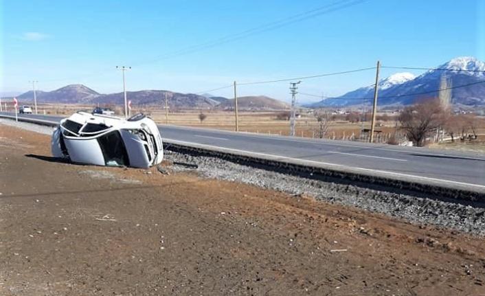 Göksun'da trafik kazası: 4 yaralı