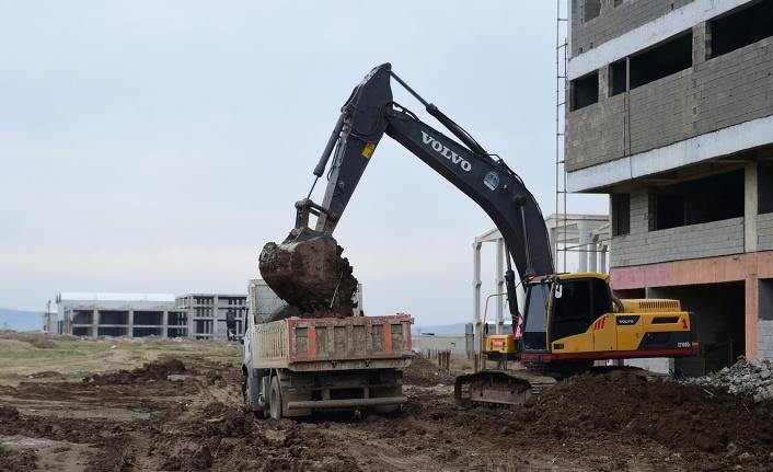 Dulkadiroğlu'nda Yeni Yol Açma Çalışmaları