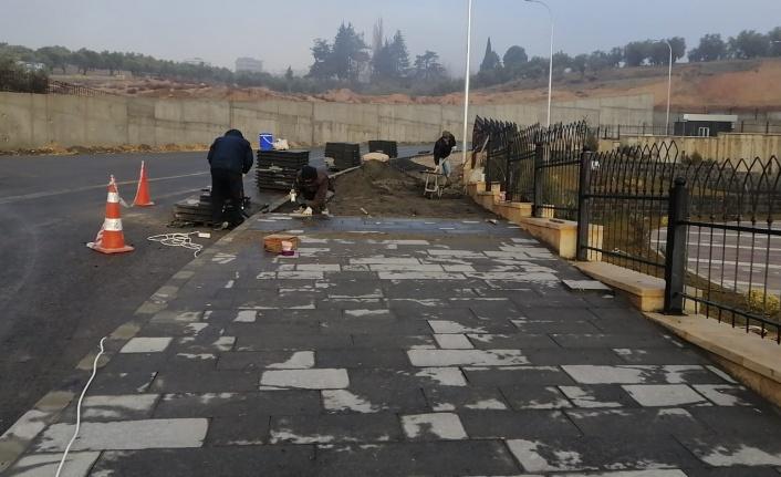Dulkadiroğlu'ndan Parke Ve Bazalt Tamiratı