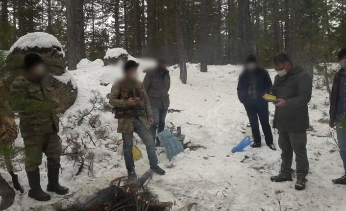 Göksun'da belgesiz avcılara ceza yağdI