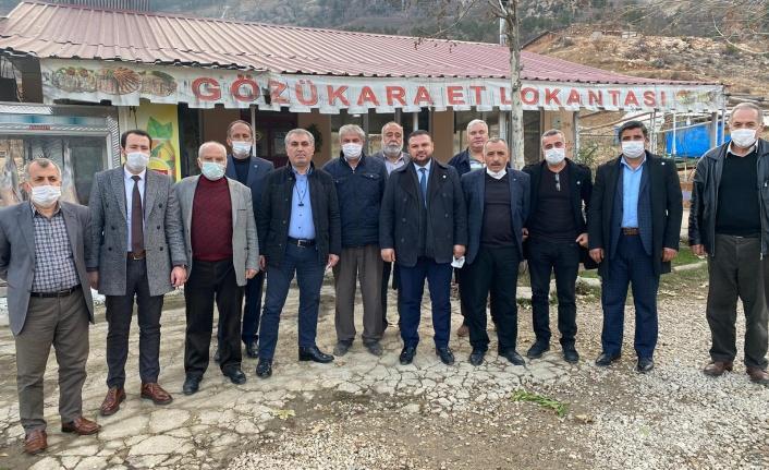 İYİ Parti Kahramanmaraş İl Başkanı Ahmet Çabukel Göksun Esnafını Ziyaret Etti