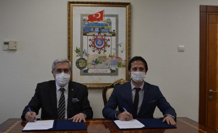 KSÜ ve Göksun İlçe Milli Eğitim Müdürlüğü arasında iş birliği protokolü imzalandı