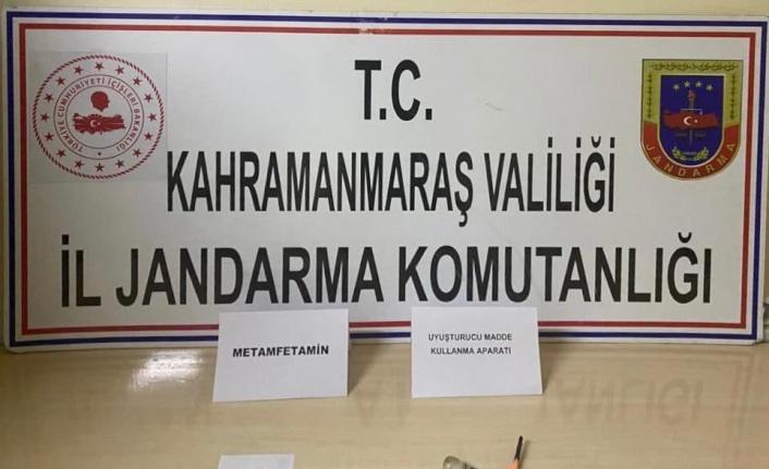 Pazarcık'ta uyuşturucudan 3 kişi gözaltına alındı