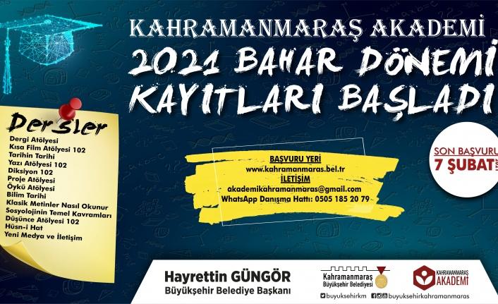 Kahramanmaraş Akademi'ye İlk Günden Rekor Başvuru
