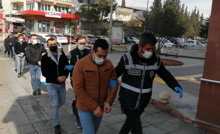 Kahramanmaraş'ta aranan 46 kişi yakalandı