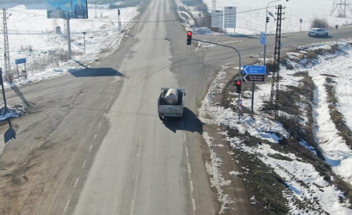 Trafik kullarına uymayan sürücülere ceza yağdı