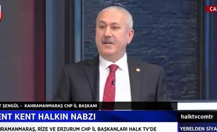 """CHP'li Esat Şengül, """"Kahramanmaraş kendi kendine yeten bir zenginliğe sahip"""""""