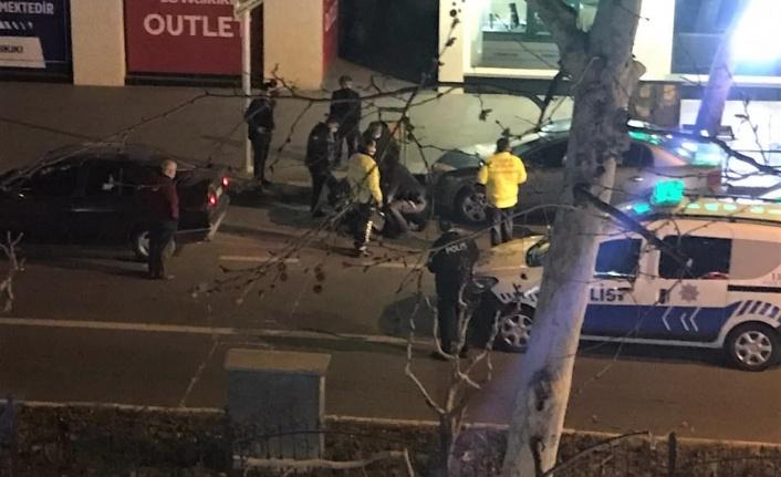 Denetim yapan kolluk kuvvetlerine direnen alkollü sürücü gözaltına alındı