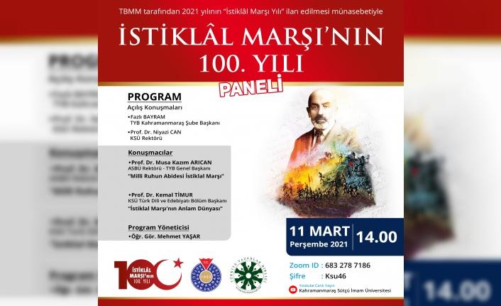 İstiklal Marşı'nın 100. Yılı Paneli