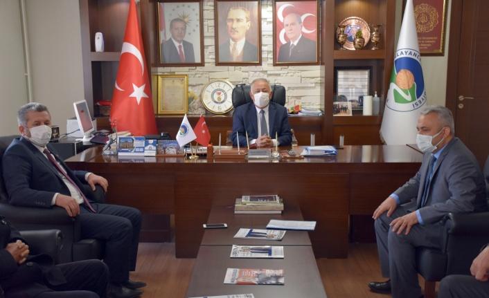 Yardımcıoğlu'ndan Başkan Sarıaltun'a ziyaret!