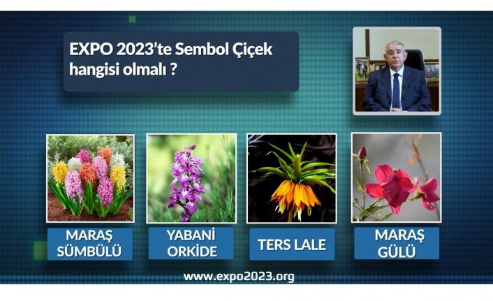 Başkan Mahçiçek, Vatandaşların Oylarıyla EXPO 2023 Sembol Çiçeğini Belirliyor