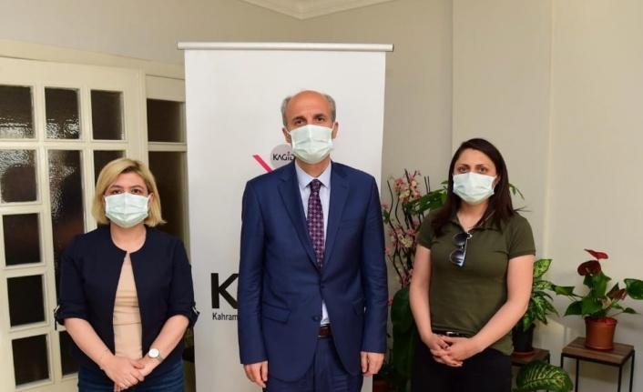 Başkan Necati Okay'dan KAGİD'e Ziyaret