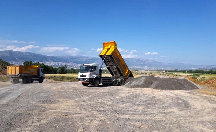 Büyükşehir Onikişubat'taki Grup Yollarını Yeniliyor