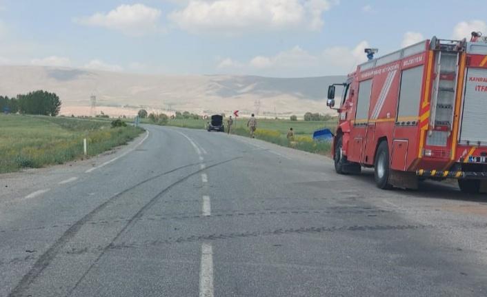 Kahramanmaraş'ta askeri araçla otomobil çarpıştı: 6 yaralı