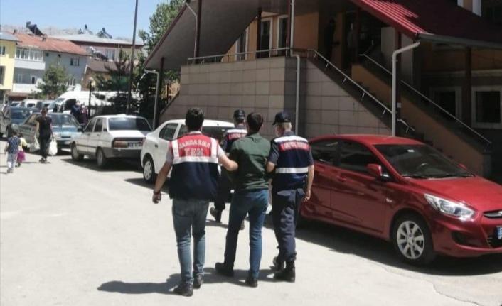 Kahramanmaraş'ta FETÖ silahlı terör örgütü üyesi 1 kişi tutuklandı