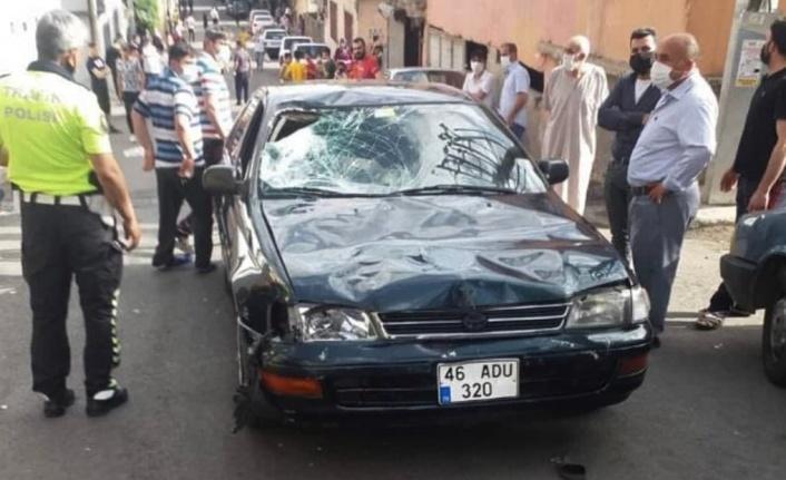 Kahramanmaraş'ta otomobil çarpan çocuk öldü