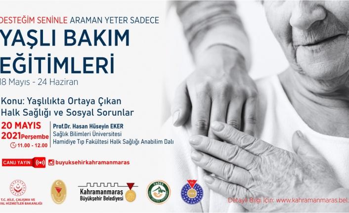 Prof. Eker'le 'Yaşlılıkta Ortaya Çıkan Halk Sağlığı ve Sosyal Sorunlar'