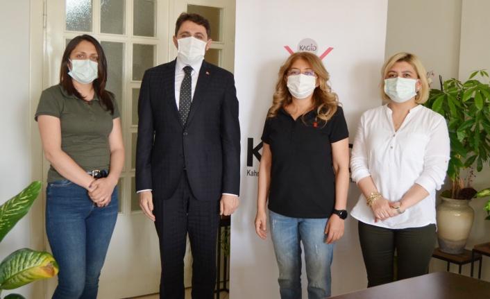 Kahramanmaraş il müdürlerinden KAGİD'e destek ziyareti