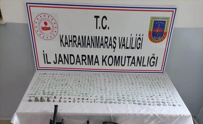 Kahramanmaraş'ta defineci operasyonu: 2 gözaltı
