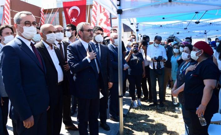 Kahramanmaraş'ta 39 yatak kapasiteli rehabilitasyon merkezi açıldı