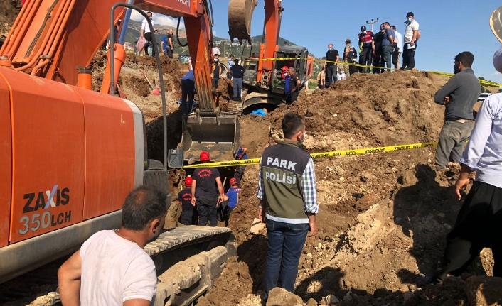Kahramanmaraş'ta inşaat sahasında göçük: 1 ölü